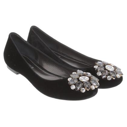 Dolce & Gabbana Ballerine di velluto