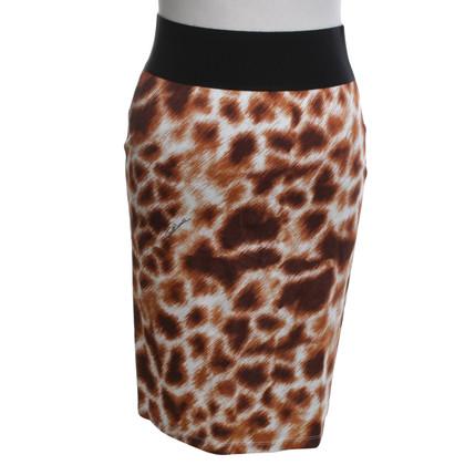Roberto Cavalli skirt with Animalprint