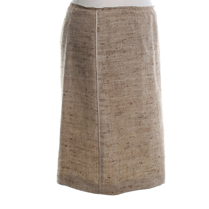 Prada skirt in beige