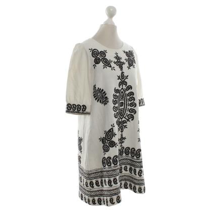 Isabel Marant Witte jurk met borduurwerk