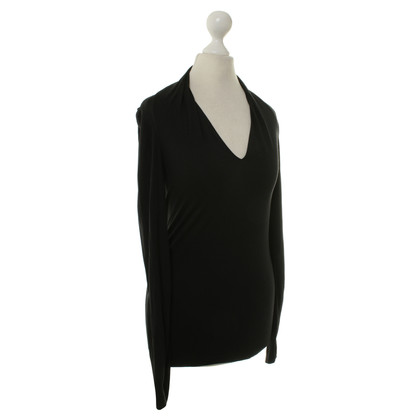 Wolford Long-sleeved shirt in black