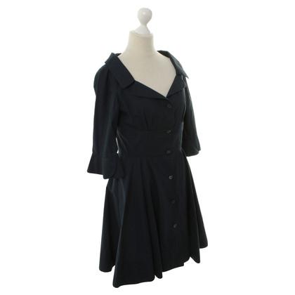 Miu Miu Cotton dress in blue