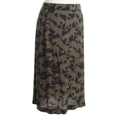 Dries van Noten Midi skirt with pattern