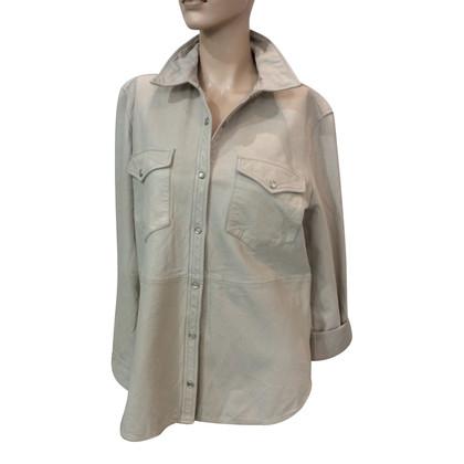 Isabel Marant Etoile Camicia in pelle