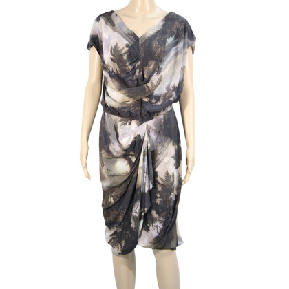All Saints Silk dress with pattern