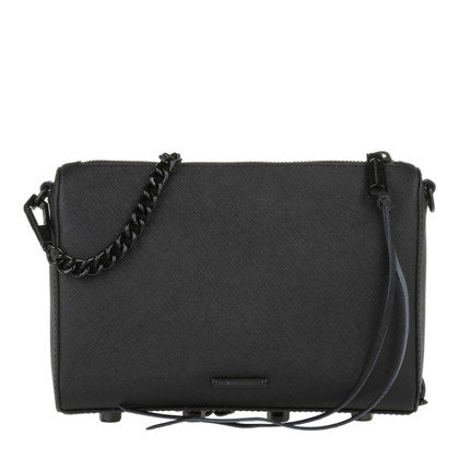 "Rebecca Minkoff ""Saffiano Avery cross body bag black"""