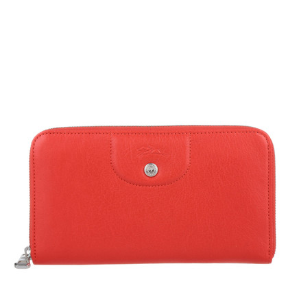 Longchamp Wallet in red