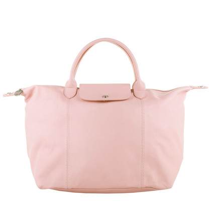 "Longchamp ""Le Pliage Cuir Classic Medium Girl"""