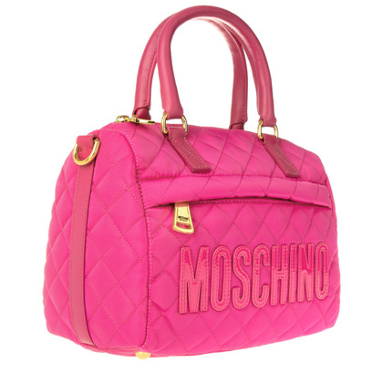"Moschino ""Nylon Bowling Bag Pink"""