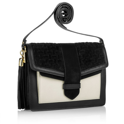 "Kaviar Gauche ""Patchwork Pochette zwart/Shadycream"""