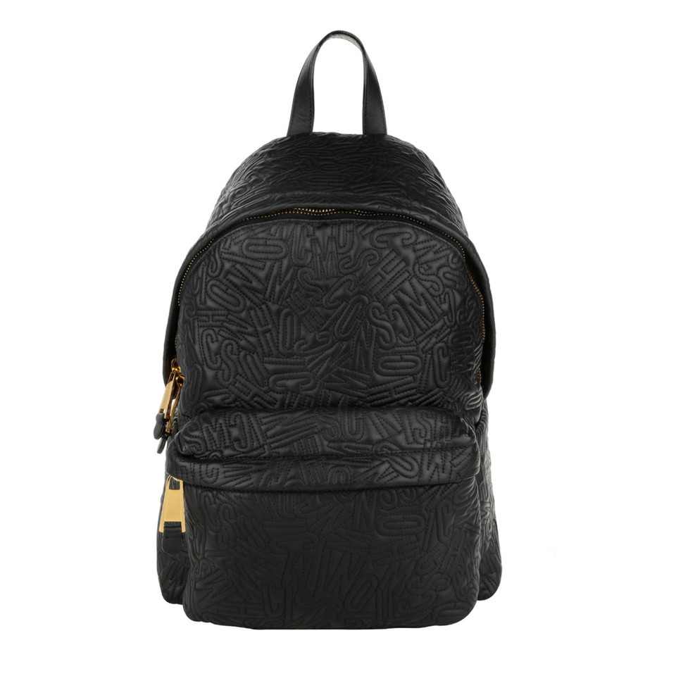 "Moschino ""Stitched Backpack Black"""