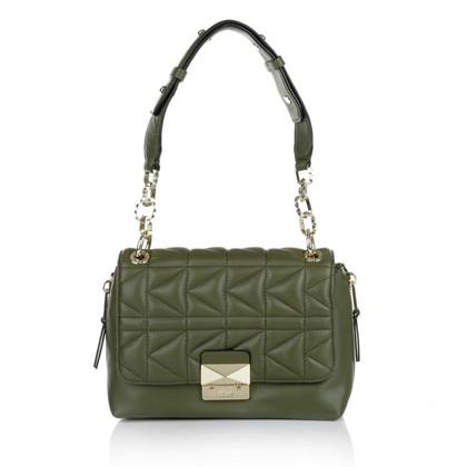 """Karl Lagerfeld """"K/Kuilted Mini Handbag Olive"""""""