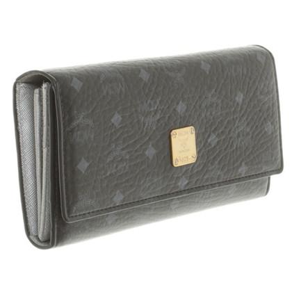 """MCM """"3Fold Wallet Black Large Color Visetos"""""""