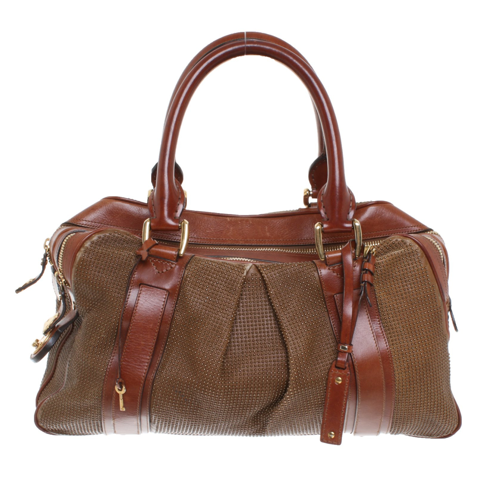 Burberry Prorsum Handbag Leather In