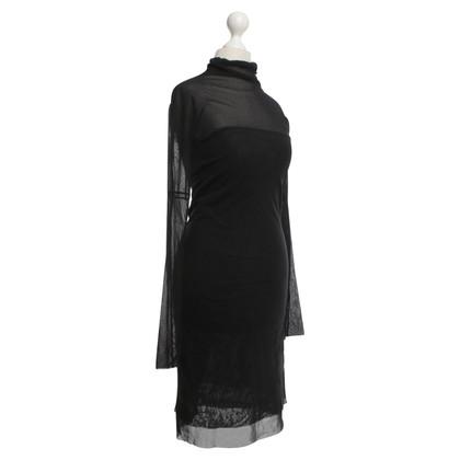 Twin-Set Simona Barbieri Kleid aus feinmaschigem Tüll