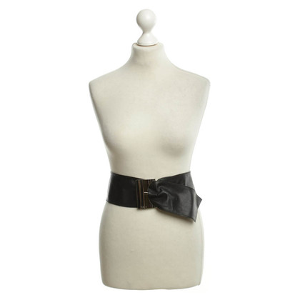 Furla Leather Belt zwart