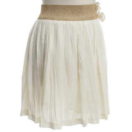 Sandro skirt with gold-colored tie