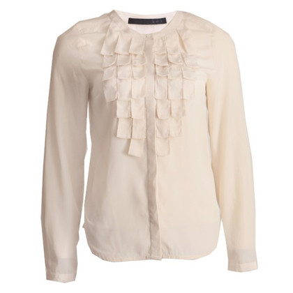 Set Blouse with Ruffles