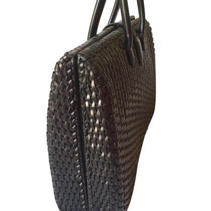 Bally Sac braided leather