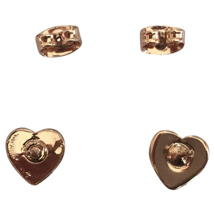 Carolina Herrera Heart CH earrings