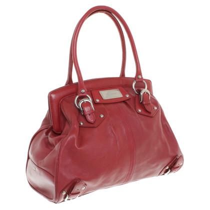Karen Millen Bag in pelle rossa
