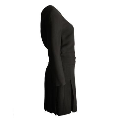 Chloé zwarte jurk met open terug