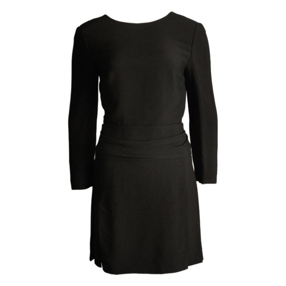 Chloé Schwarzes Kleid mit Rückenausschnitt - Second Hand ...