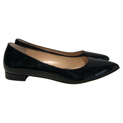 Bally Patent leather ballet flats in black