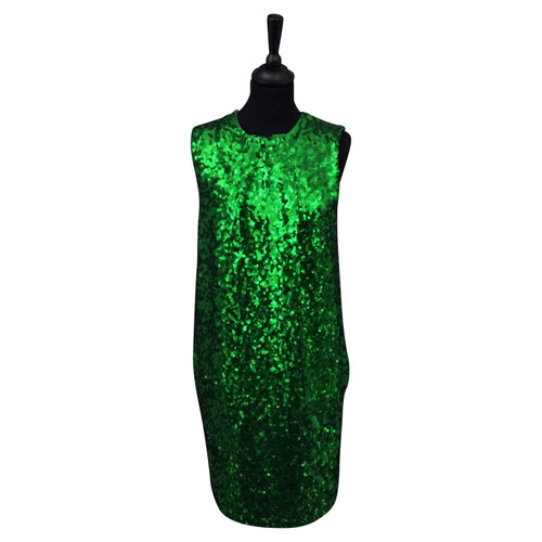 f4f92ffe4 By Malene Birger Sequin dress in green - Second Hand By Malene ...