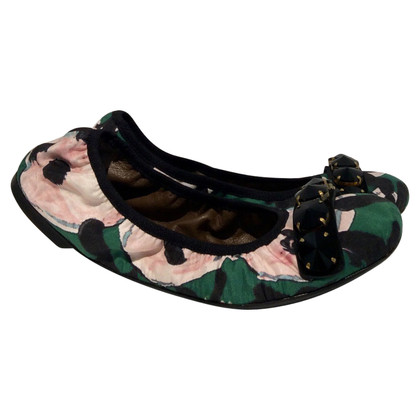 Marni Ballerinas with semi-precious stones