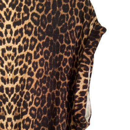 Maje Dress with Leopard pattern