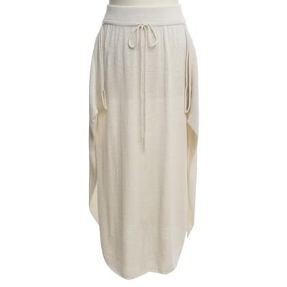 Stella McCartney Knitted skirt in beige
