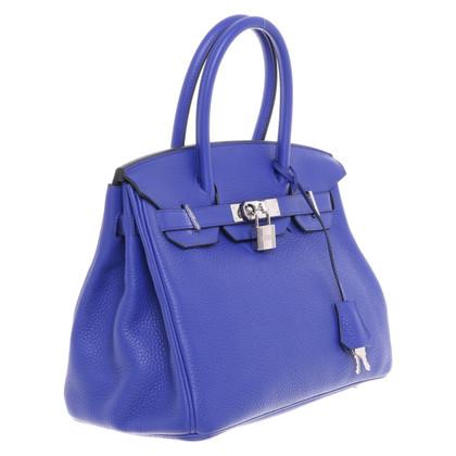 """Hermès """"Birkin Bag 30 Bleu Electrique"""""""
