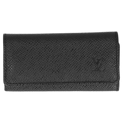 Louis Vuitton Key Holder Taiga Leather