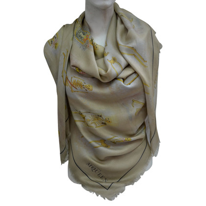 Alexander McQueen XXL cloth with cashmere