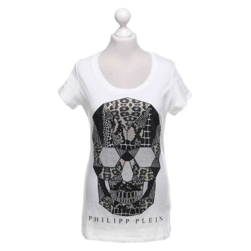Op voorraad Philipp Plein T-shirt met schedel ...