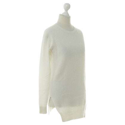 Theory Cream knit pullover