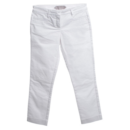 Schumacher trousers in white