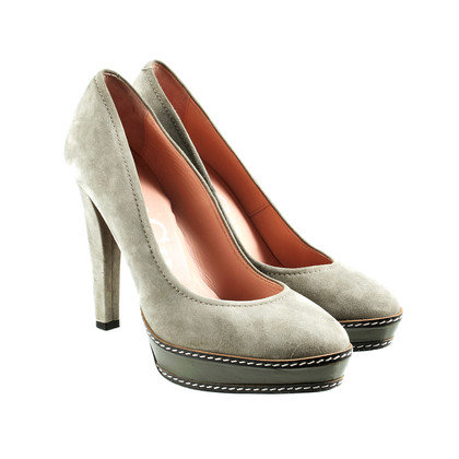 Paco Gil Pumps with color and material mix