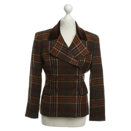Ralph Lauren Tweed Blazer met patroon