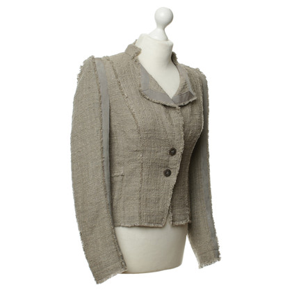 Luisa Cerano Jacke in Tweed-Optik