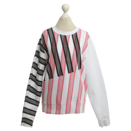 Acne Sweatshirt with striped pattern