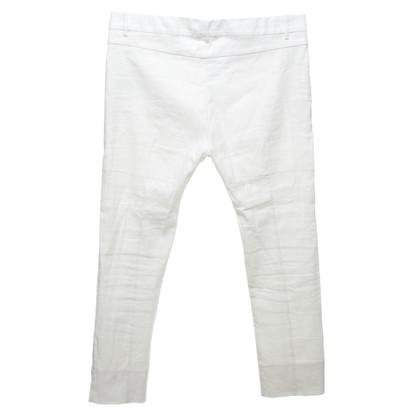 Acne Pantalon à la crème