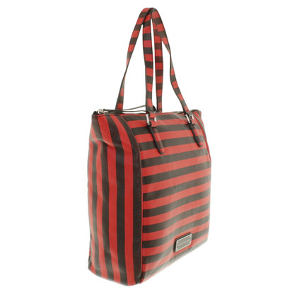 Marc by Marc Jacobs Borsetta in motivo a strisce