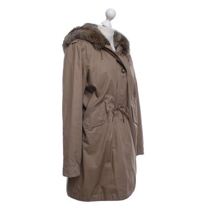 Woolrich Coat in light brown