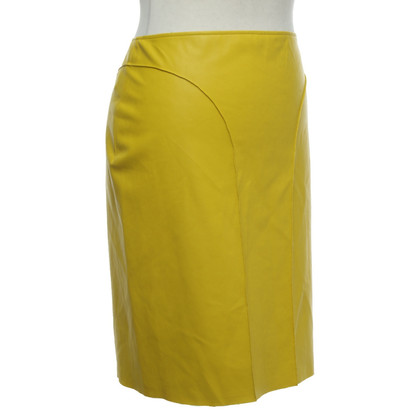Cédric Charlier skirt in yellow