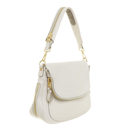 "Tom Ford ""Jennifer Bag"" in hellem Creme"