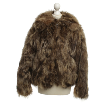 Other Designer Neiman Marcus - Bomber Jacket Fur