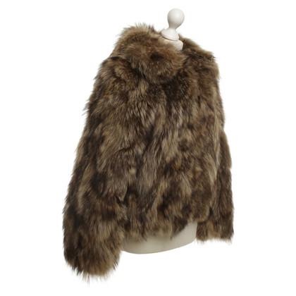 Other Designer Neiman Marcus - Bomber Jacket Fur