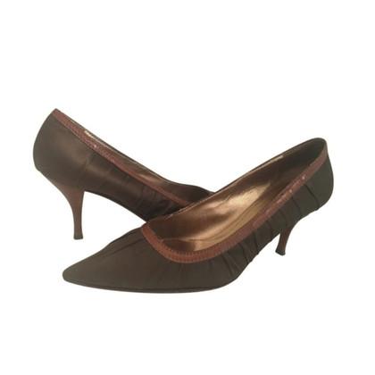 Prada Pumps aus Satin